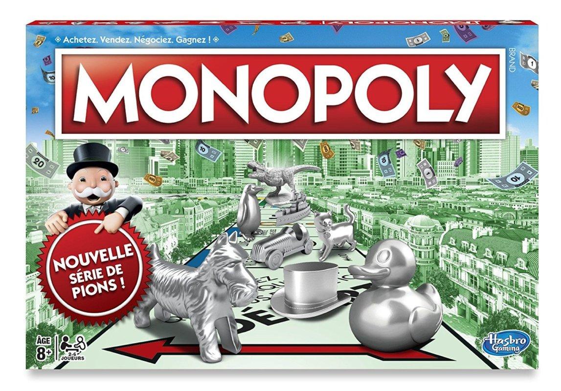 meilleur jeu de société 2018 monopoly