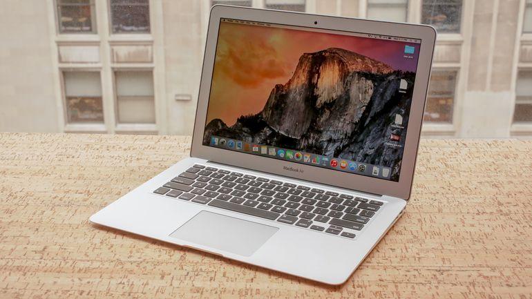 MacBook Air PC montage et édition vidéo photo