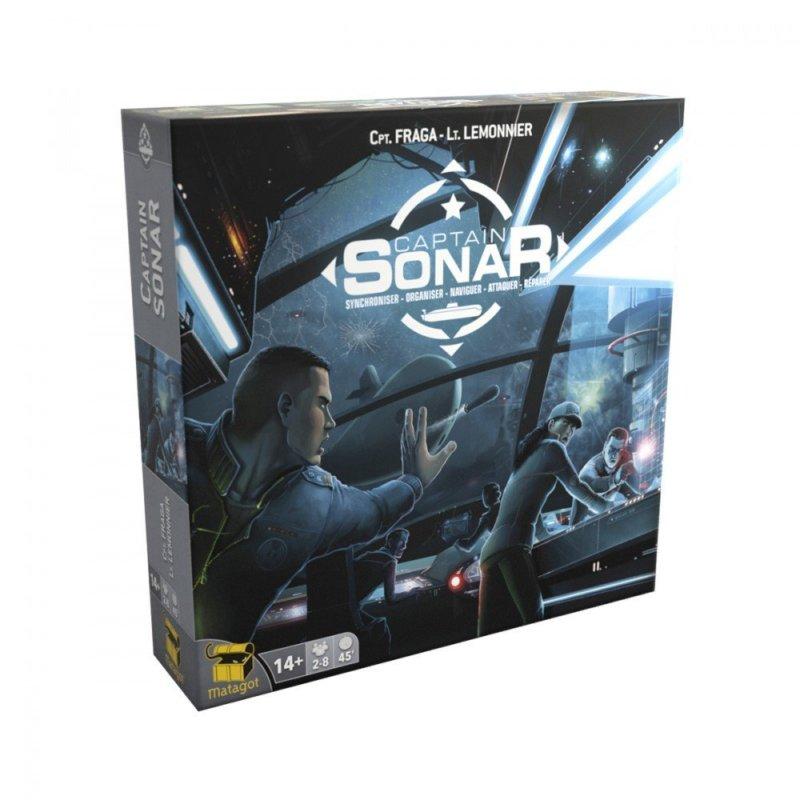 meilleur jeu de société 2018 jeux de sociétés Captain SoNar