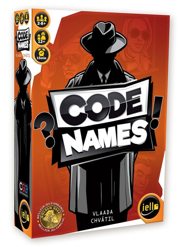 CodeNames jeu de société 2018