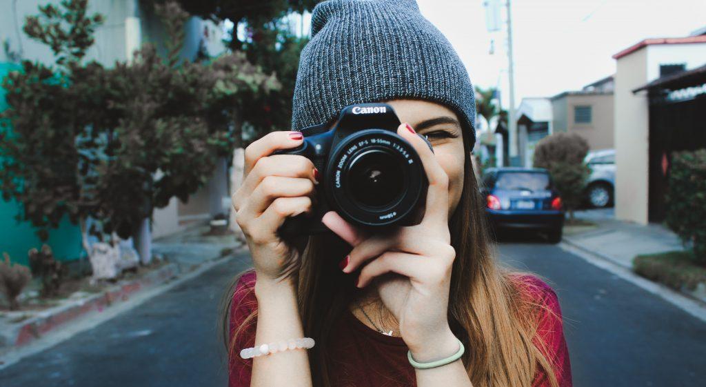 appareil photo pour vlogger