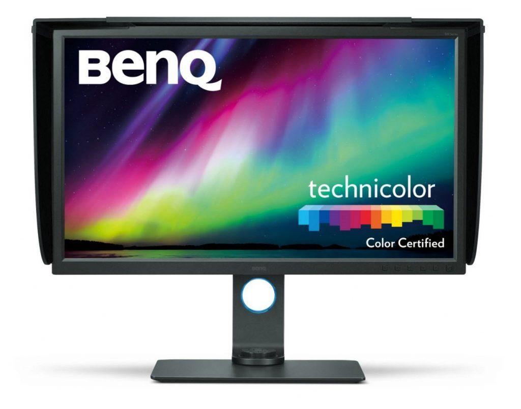 BenQ SW320, Écran Photographes 31,5 Pouces, 4K UHD 3840 x 2160, HDR