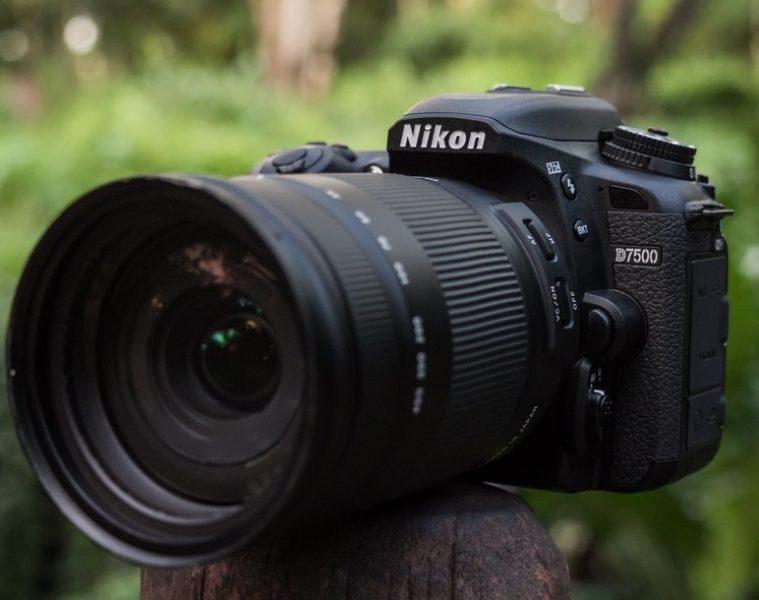objectif pour nikon d7500