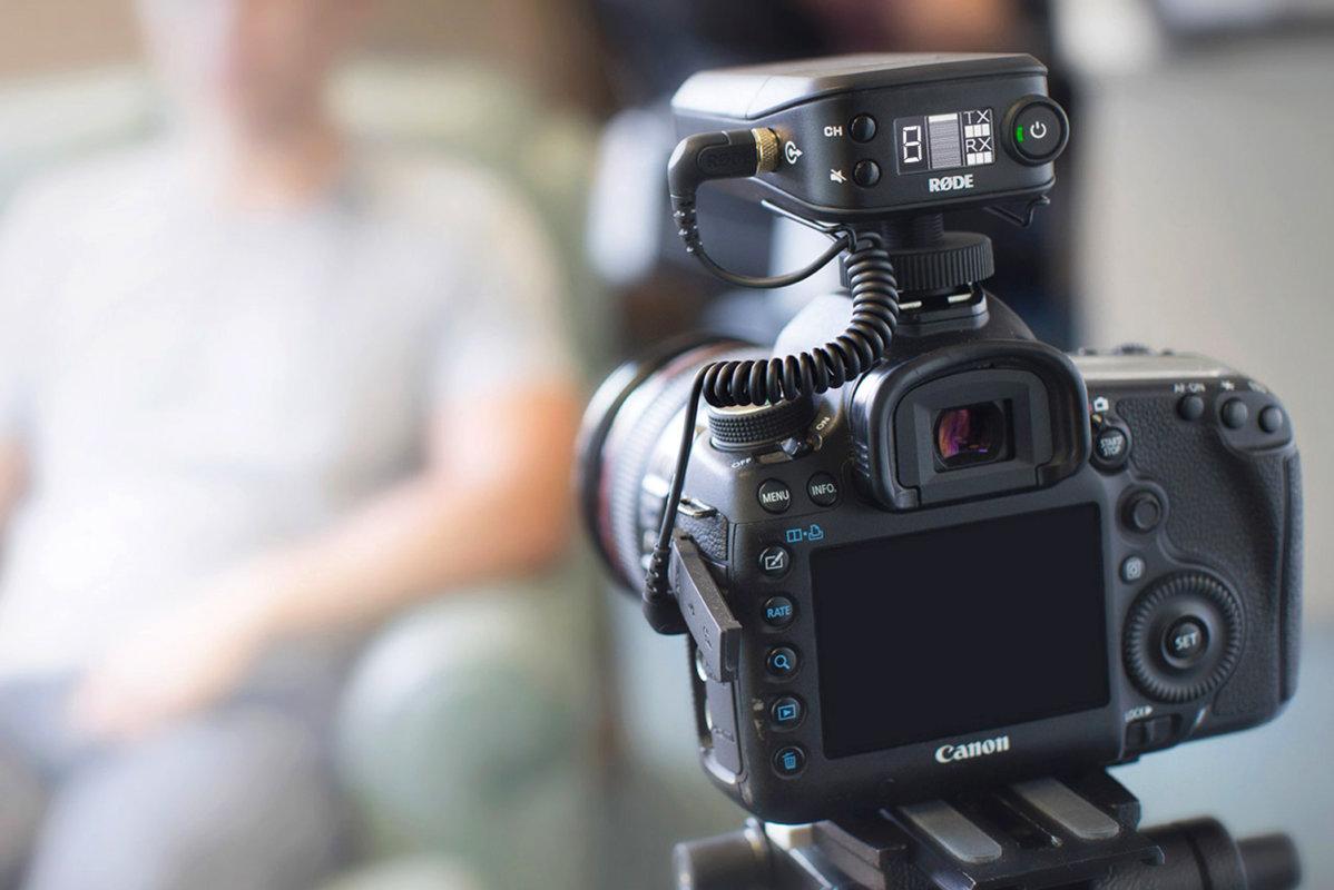 RODE Filmmaker Kit - Système audio sans fil numérique pour réalisateurs meilleur micro pour appareil photo 2019