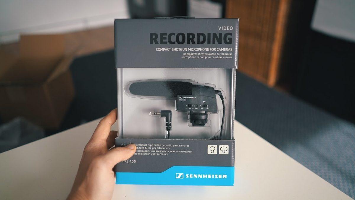 Sennheiser MKE 400 micro pour appareil photo meilleur micro pour appareil photo 2019