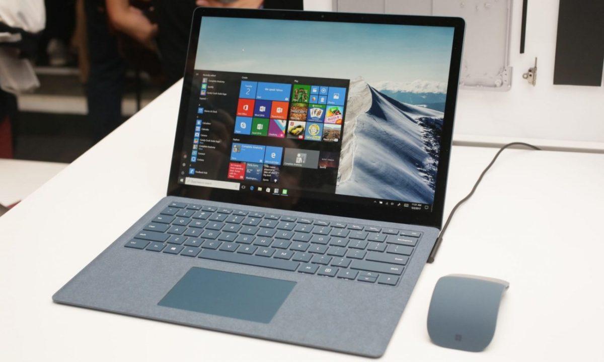 Microsoft Surface Laptop Meilleur PC Portable pour musique