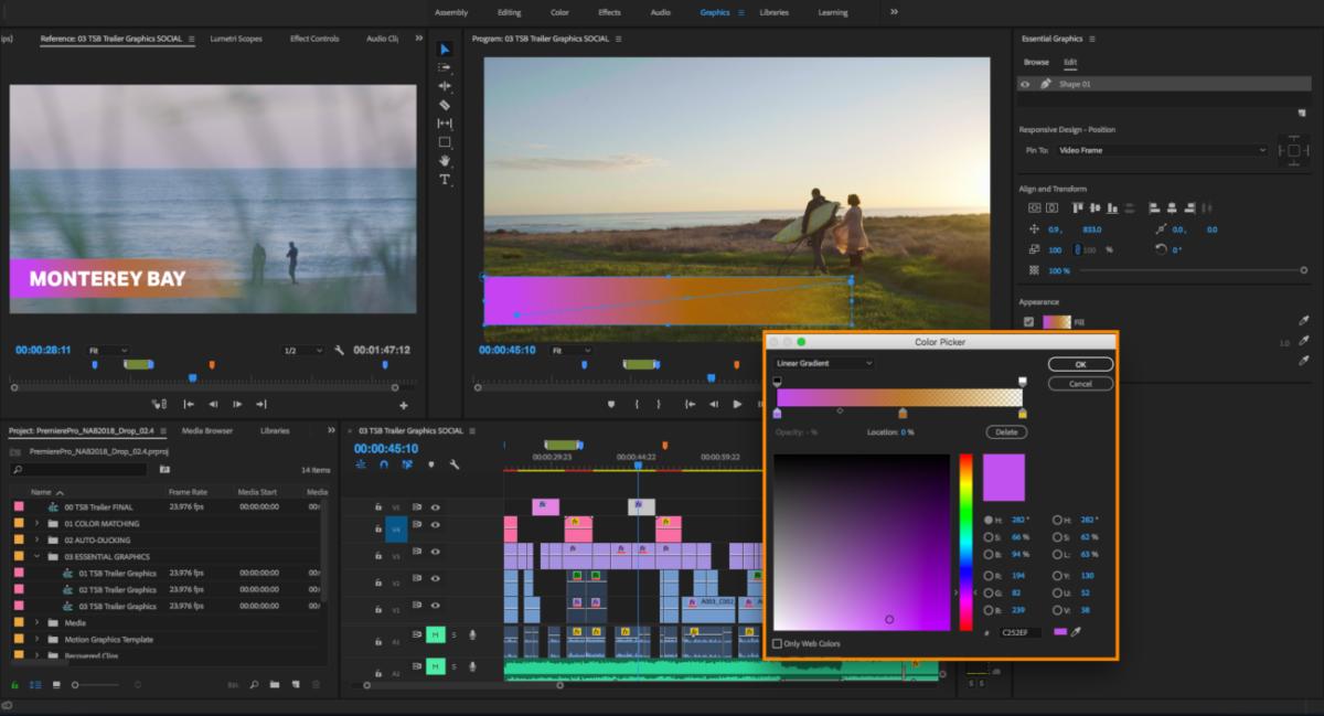 pc config pour Adobe Premiere Pro