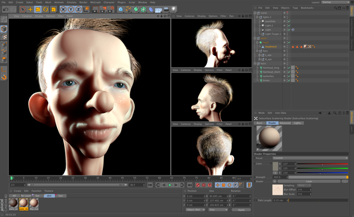 pc pour animation 3d