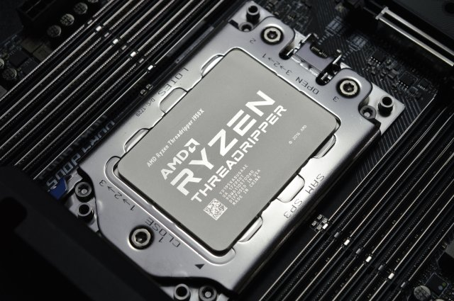 amd threadripper rendu modelisation 3d