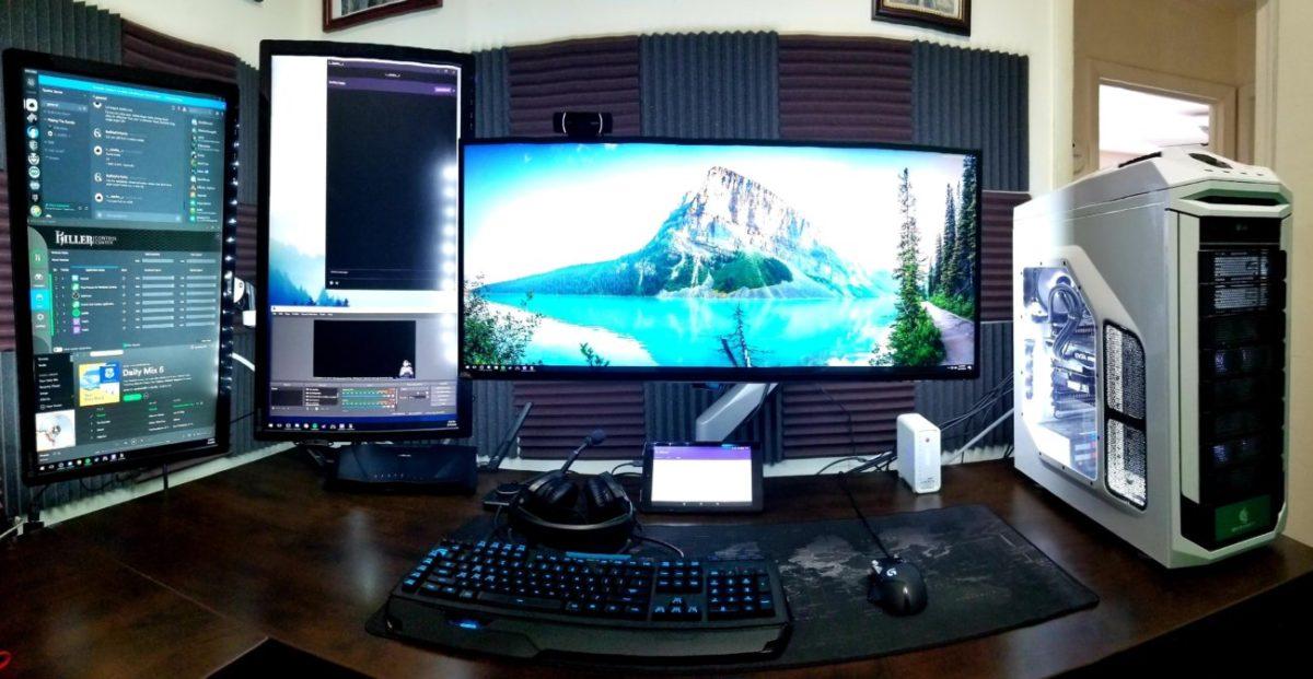 setup de streaming