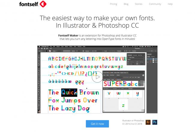 Fontself Maker Meilleurs Plugins Photoshop