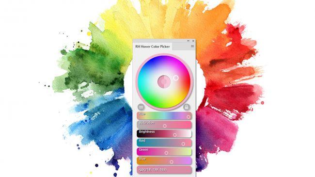 RH Hover Color Picker Meilleurs Plugins Photoshop