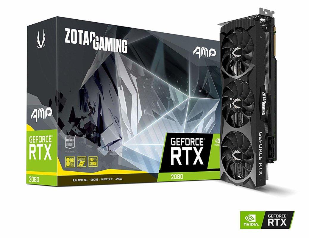 Meilleure RTX 2070 (Asus vs MSI vs Gigabyte etc...) ZOTAC RTX 2070 AMP Extreme
