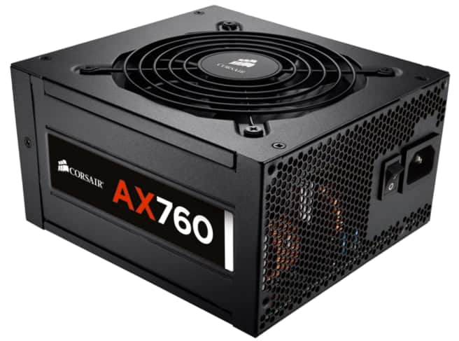 Alimentation Corsair AX760W