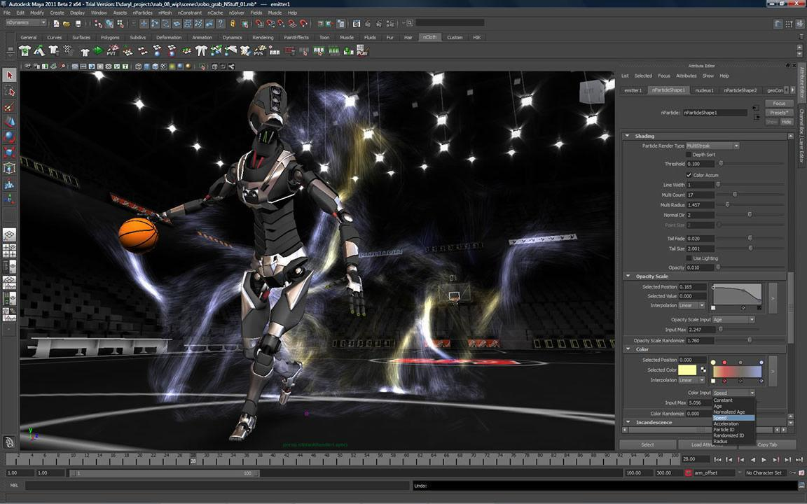 Animation 3D Maya Pc portable
