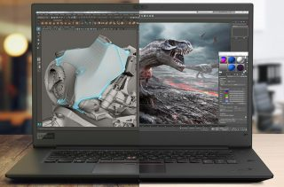 PC Portable pour Animation After Effects, Cinema 4D, Photoshop