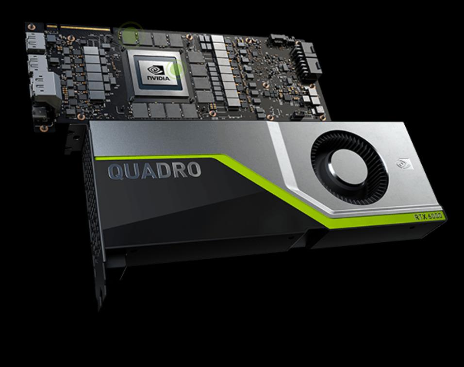 Quadro RTX Quelle est la différence ? GPU Pro ou GPU grand public