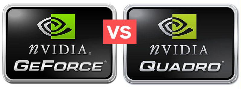 GeForce ou Quadro ?