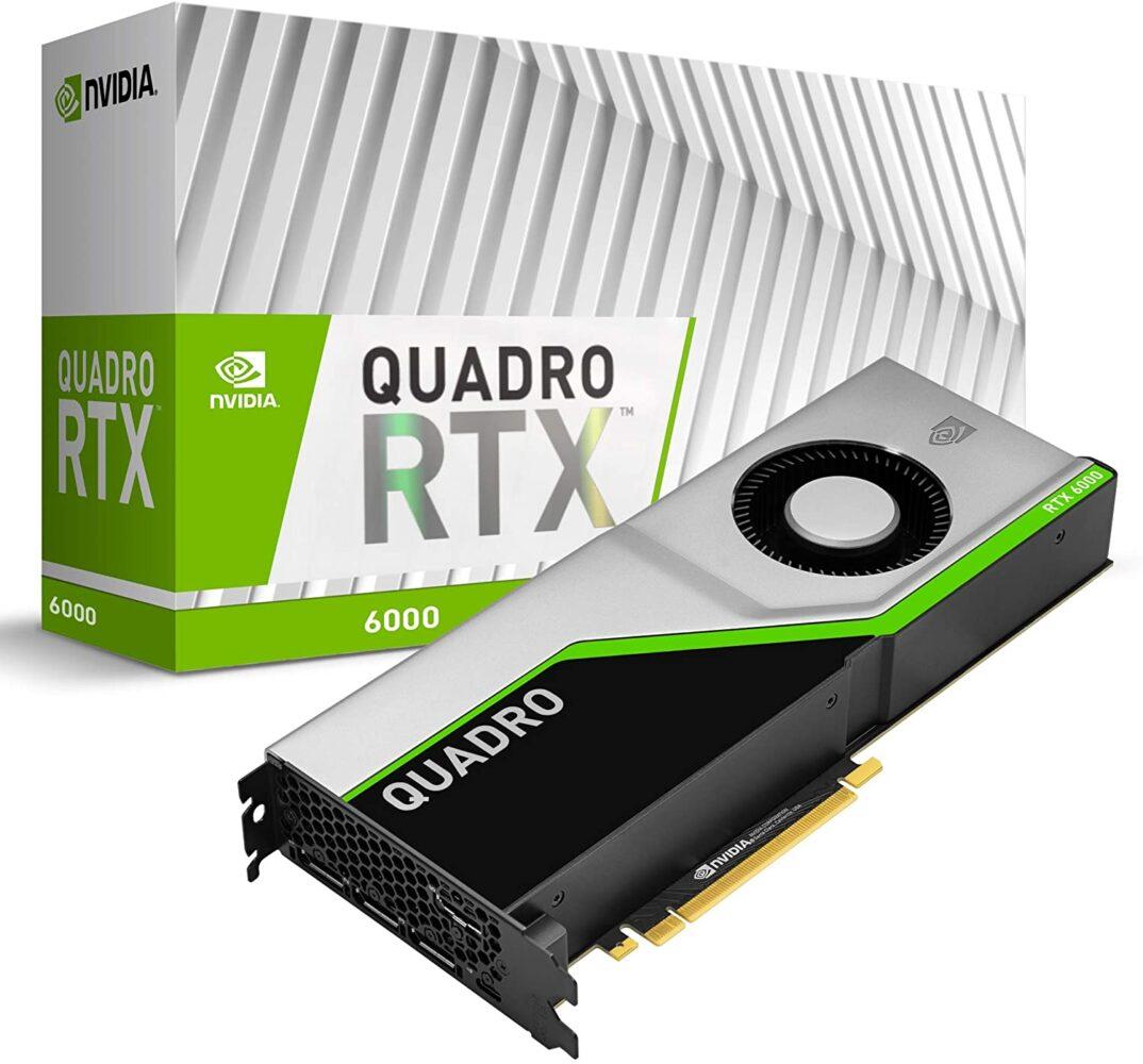3 - : Nvidia Quadro RTX 6000