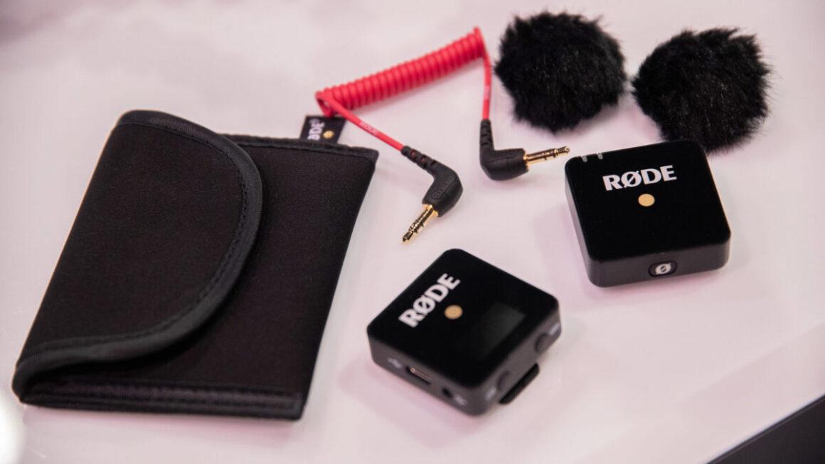 6. Rode Wireless Go - Micro sans fil miniature que vous pouvez emporter partout