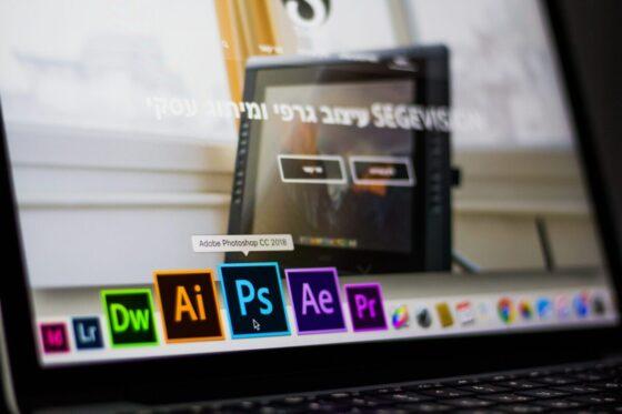 ordinateur portable pour la retouche photo