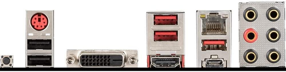 MSI B450 Tomahawk MAX ports
