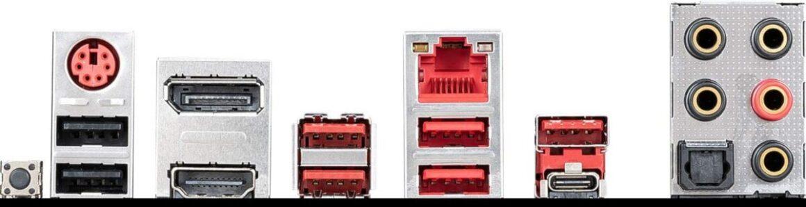 MSI B450M Mortar MAX ports