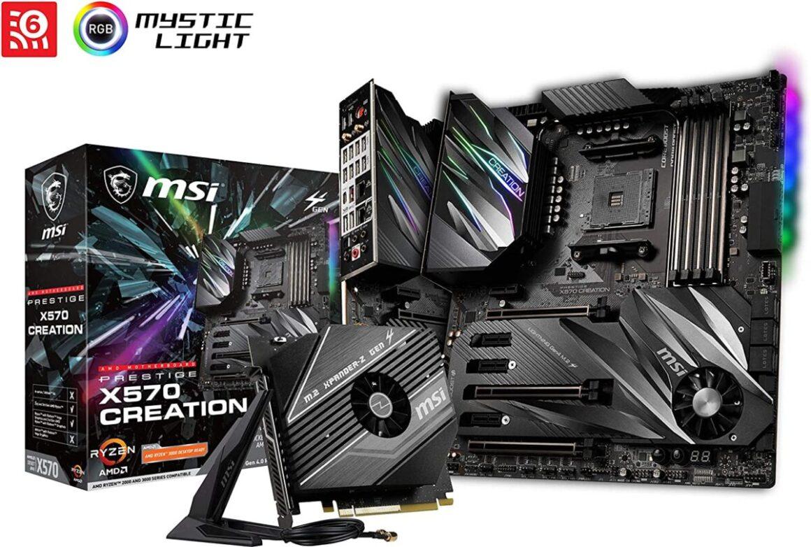 MSI Prestige X570 CREATION E ATX