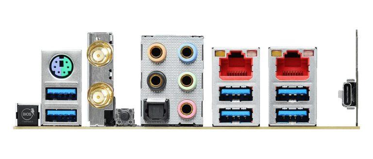 ASRock TRX40 Creator ports
