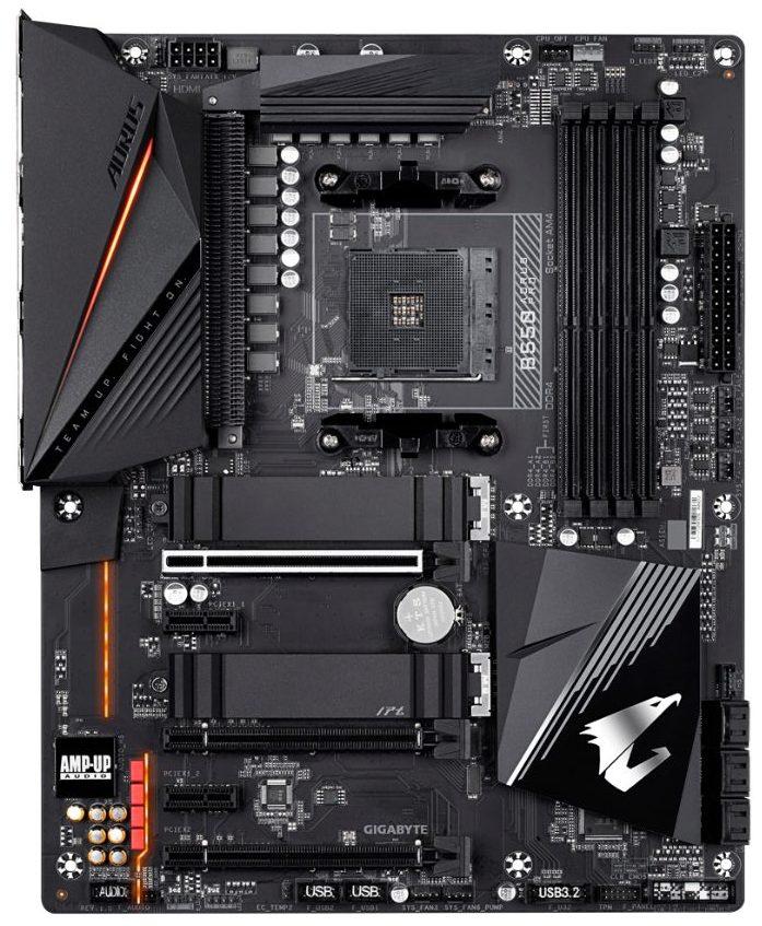 Gigabyte B550 Aorus Pro carte mere