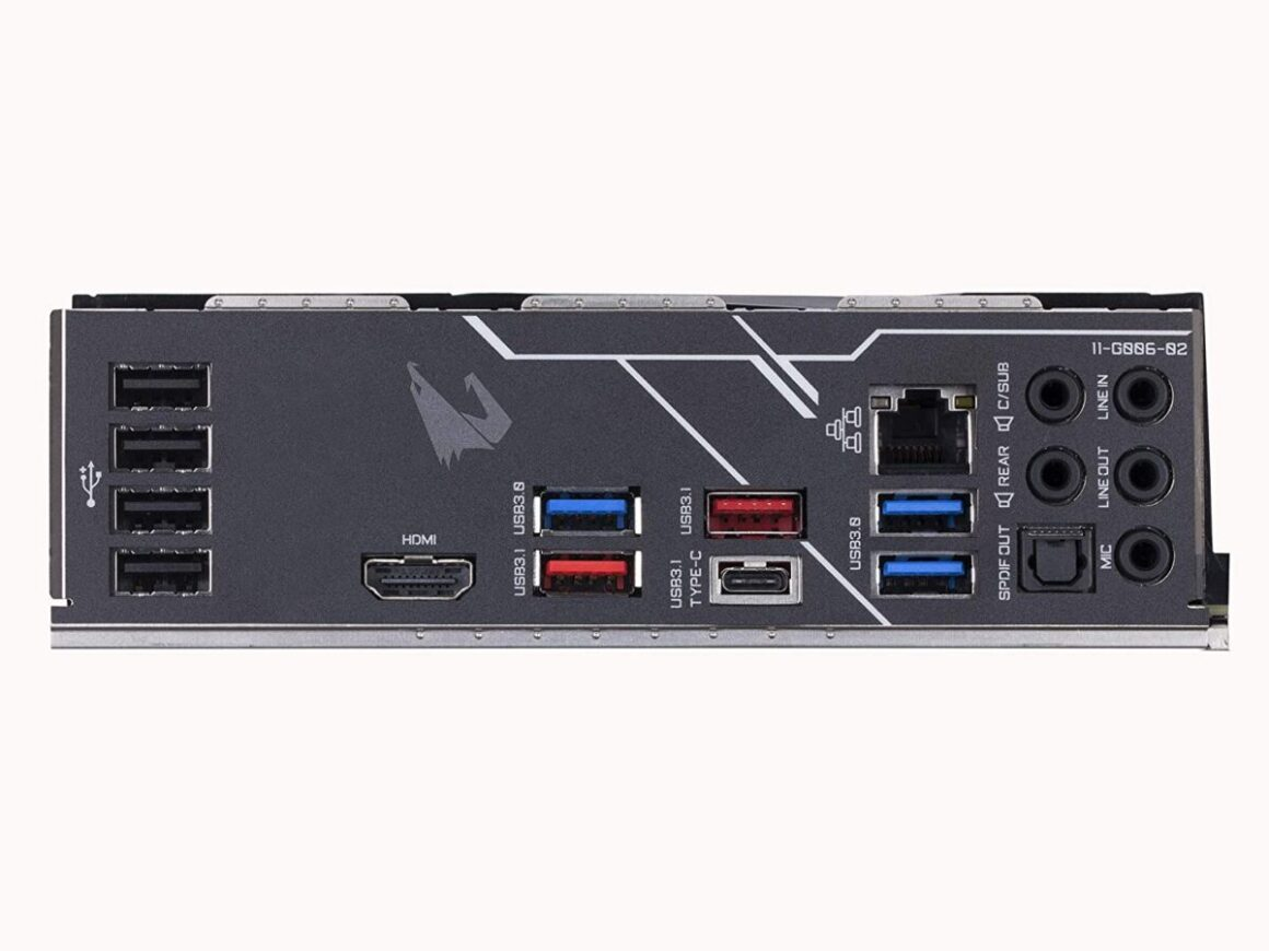 Gigabyte Z390 AORUS PRO ports