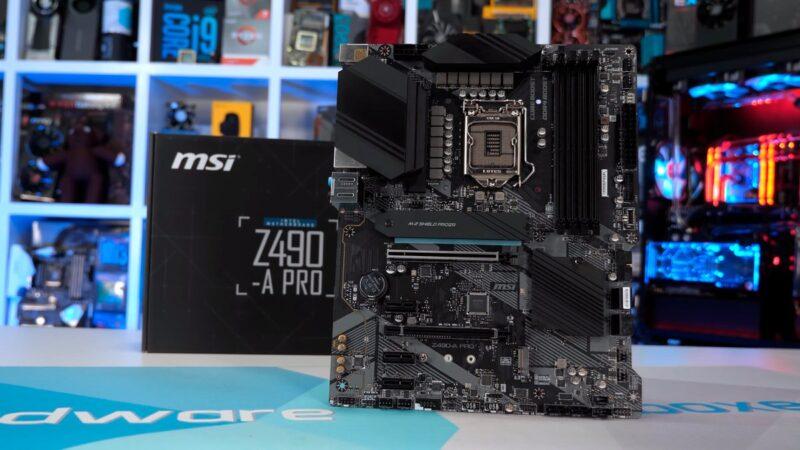 Les meilleures cartes mères Z490 pour les processeurs Intel 10900K 10700K 10600K