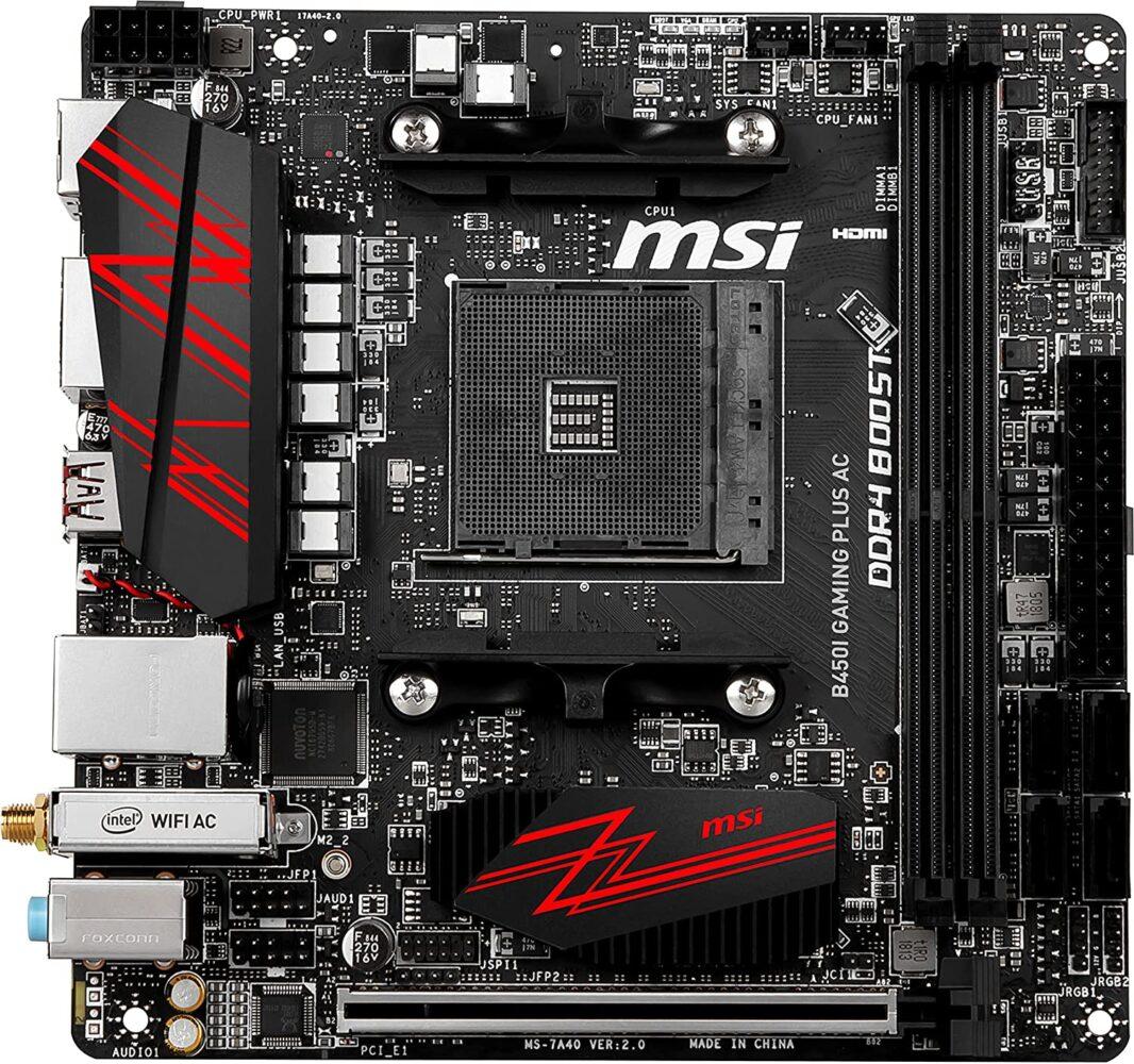 MSI B450I Gaming Plus AC carte mere