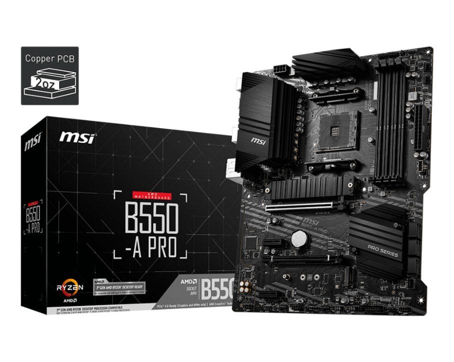 MSI B550 A Pro 1