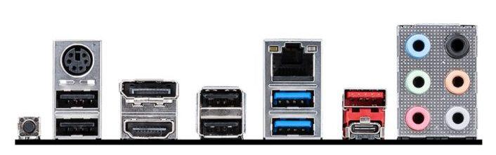 MSI B550 A Pro ports