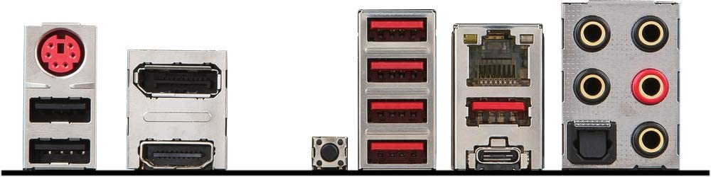 MSI X470 Gaming Pro Carbon ports