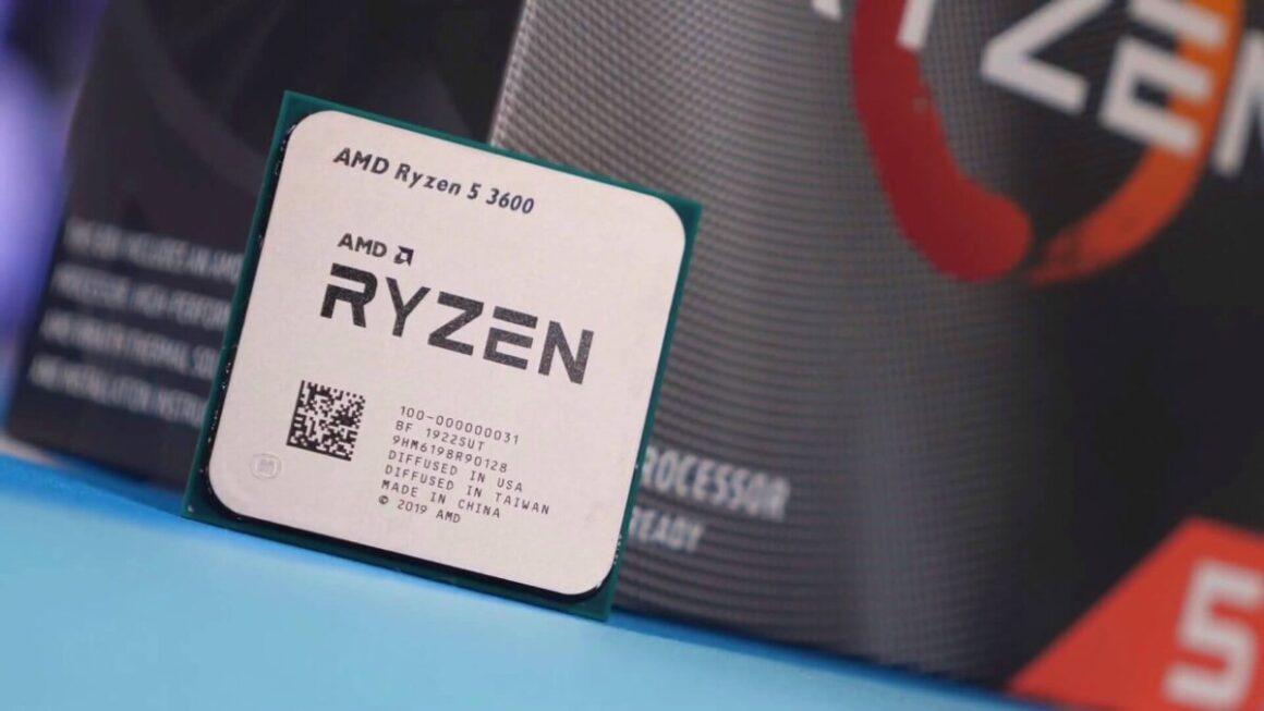 carte mere AMD Ryzen 5 3600