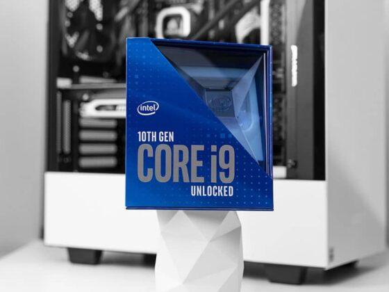 Configuration PC avec Intel Core i9 10900K
