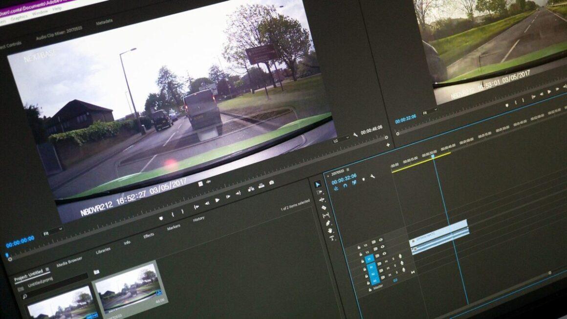 Adobe Premiere Pro montage video