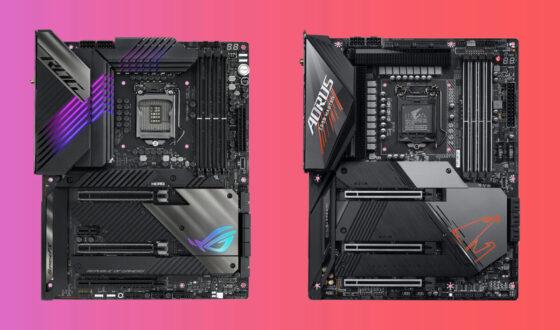 Quelle carte mere Z590 pour Intel i7 11700K