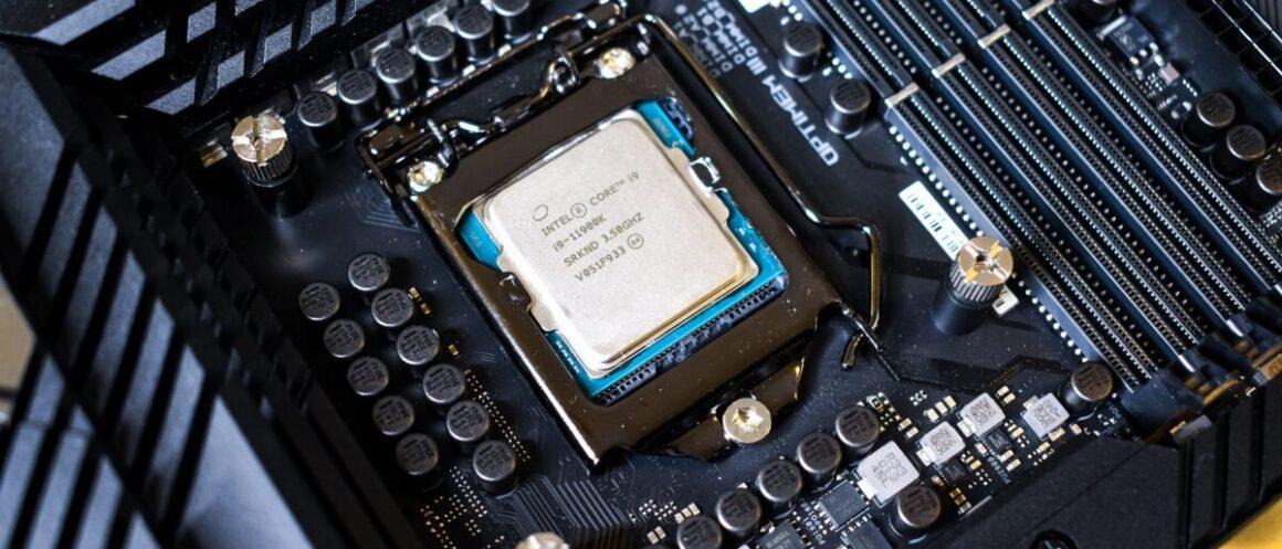 Quelle carte mere pour Intel i9 11900K