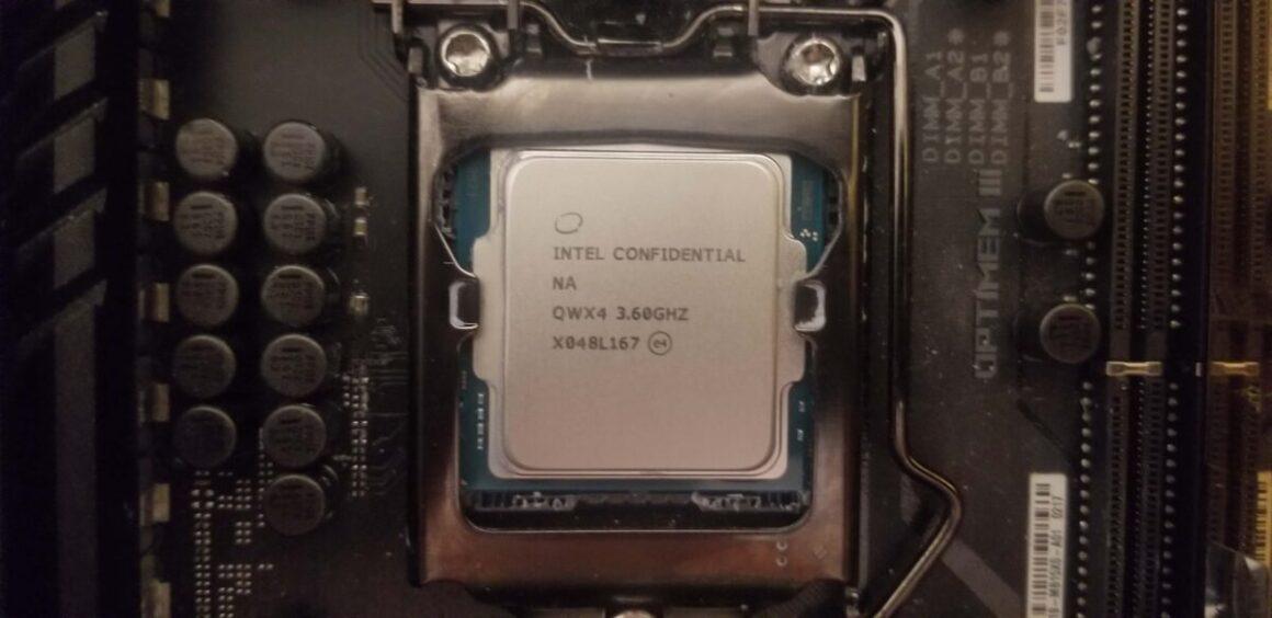 carte mere pour Intel i7 11700K