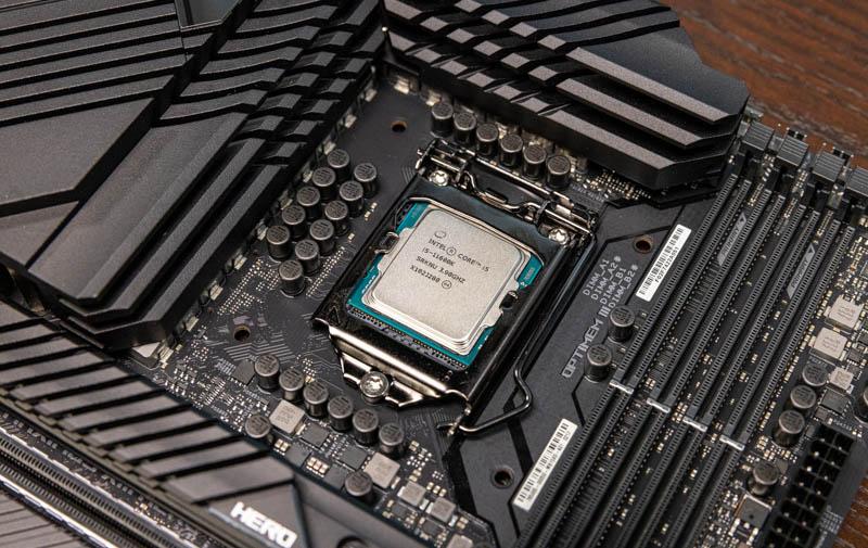 z590 pour Intel Core i5 11600K